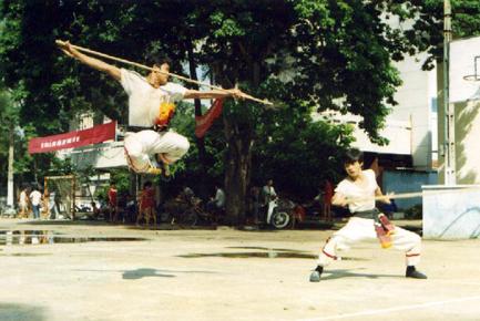Les origines des arts martiaux traditionnels du vietnam for Origine des arts martiaux